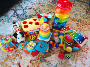 Baby toy lot.