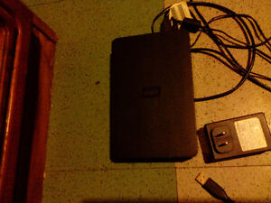 Disque dur externe 1to wd