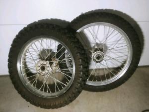 Drz 400 SM/S/E Dirt rims!