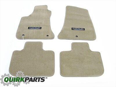 11-14 Chrysler 300 RWD Premium Carpet Floor Mats Set Of 4 Dark Frost Beige -