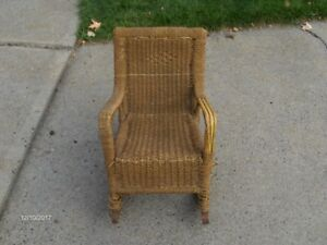 Antique Child's Rocking Chair 100 years old
