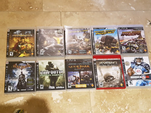 Selling ps3 games $5 each or $25 for the rest!