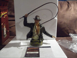 Indiana Jones Collectible  Bust West Island Greater Montréal image 1