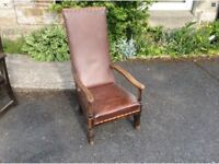 Unusual captains chair SOLD