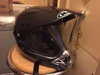 Hjc hybrid crash helmet