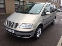 2010 Volkswagen Sharan 1.9TDI PD ( 115ps ) Automatic Only 30,00 Miles Great Spec