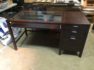 Dark Brown Office Desk OBO