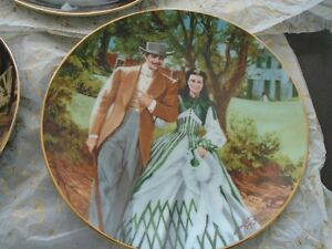Gone With the Wind, Golden Anniversary Plate series Peterborough Peterborough Area image 6
