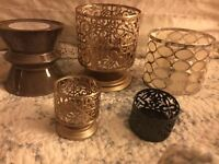 Bath and Body Works Candles and Holders