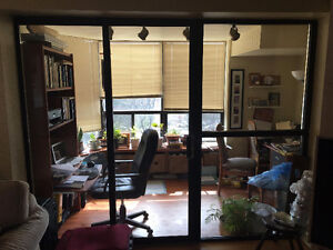 Sliding Door and Glass Side panels