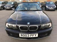 2003 BMW 3 Series 2.0 318Ci 2dr