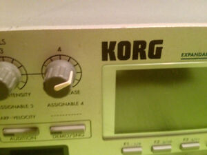 Korg Triton Rack Synthesizer