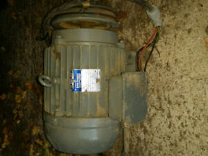 5HP 3ph commercial/industrial electric motor