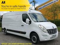 2012/ 62 Renault Master LM35dCi 125 L3 H2 Lwb [ Mobile Workshop Racking ] van