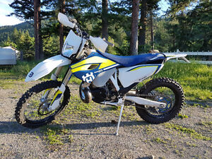 2016 HUSQVARNA TE-250 Mint, Ready to Ride