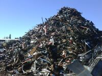 Free scrap metal pick up in Darlington