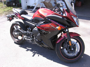 2011 YAMAHA FZ6RA FOR SALE