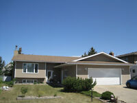 Great Value Bi-Level with Huge Attached 27x26 Garage in Camrose
