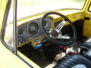 1961 Ford Unibody Wide Window, Rare Truck