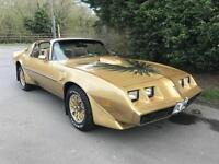 VERY RARE AMERICAN CLASSIC 1979 PONTIAC TRANS-AM FIREBIRD T-TOP 6.6 V8 AUTOMATIC