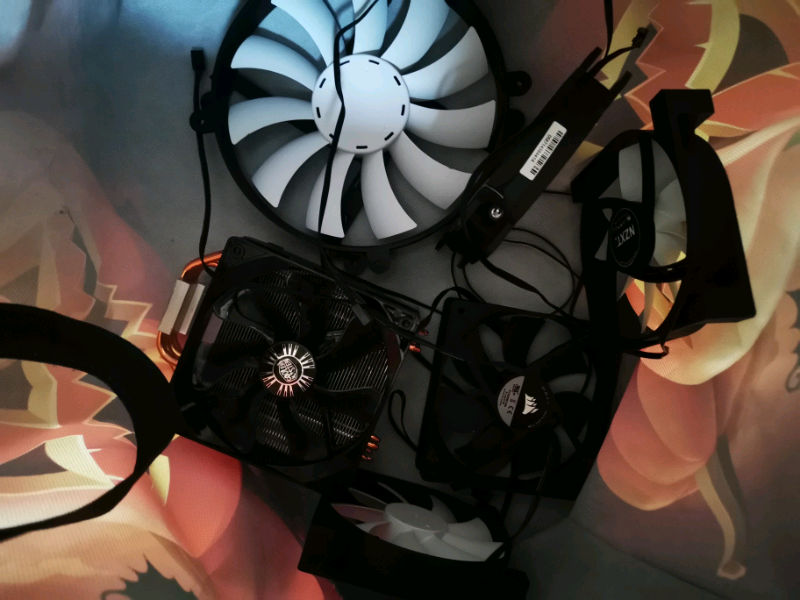 Fans and cpu cooler