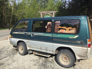 1993 Delica - with veg oil conversion !