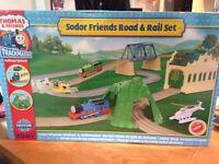 Thomas Rail Set - Sodor Road and Rail Set