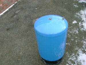 tank for fire pit stove