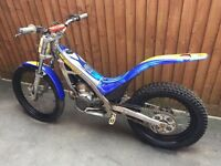Sherco 250 trials bike 2004