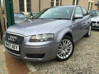 ✿57-Reg Audi A3 2.0 TDI SE 3dr ✿ONE OWNER ✿LOW MILEAGE✿