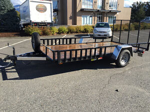 2014 Utility Trailer (US Cargo) 14' long by 8'