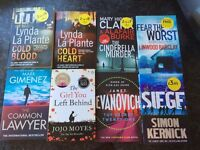 Selection of 17 mostly brand new paperbacks