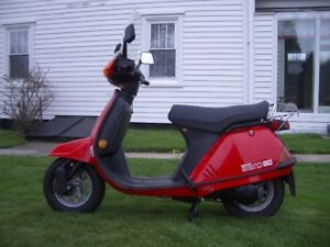 Looking For Old & New Honda Scooters Parts AERO 80 Mascot Elit