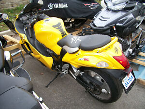 2009 SUZUKI HAYABUSA WITH 2 BROTHERS EXHAUST