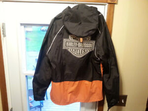 Ladies Harley Davidson Rain Suit
