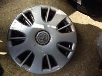 vauxhall corsa 15 inch wheel caps genuine set 4