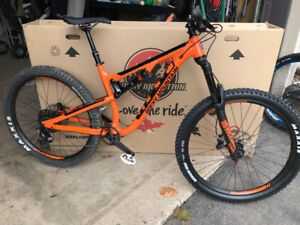 2018 Rocky Mountain Pipeline with all NEW parts and dropper post
