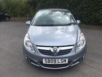 A Superb Condition VAuxhall Corsa 1.2I 16V DESIGN A/C With Low Low Mileage Only