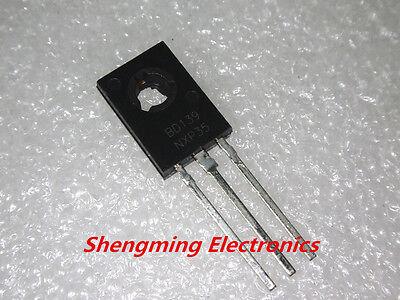 20pcs Bd139 To-126 Npn 80v 1.5a Power Transistors