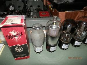 Matched pair 6L6 power tubes, for Amplifiers or ORGANS