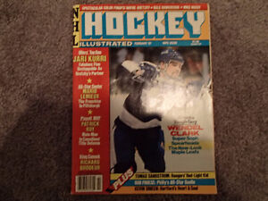 NHL Hockey Illustrated February 87 Wendel Clark Cover