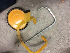 Caravan Safety Wheel clamp