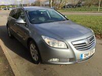 Vauxhall Insignia SRi 2.0CDTi 16v (160PS) auto (silver) 2011