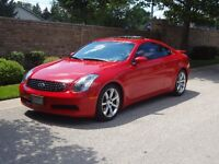 2004 Infiniti G35 Coupe - excellent condition, 48,500k