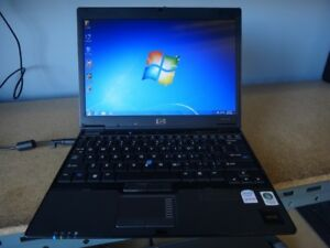 HPcompaq 2510p ( 2 core ) notebook new battery sale