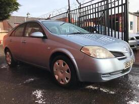 *TRADE IN TO CLEAR*2006(06)NISSAN PRIMERA 1.8 5DR WITH MOT TILL FEB 2018*
