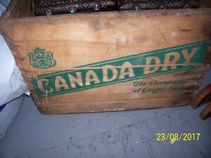 3 Old Wood  Crates