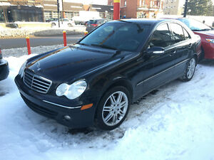 MERCEDES BENZ 2007 C280 SUPER CLEAN AUTOMATIC LEATHER