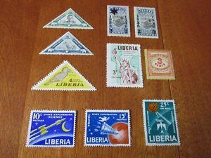 LIBERIA   C, TIMBRES NON OBLITÉRÉS   MINT STAMPS
