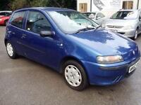 Fiat Punto 1.2 Active 3dr 2002 (52 Reg), Hatchback